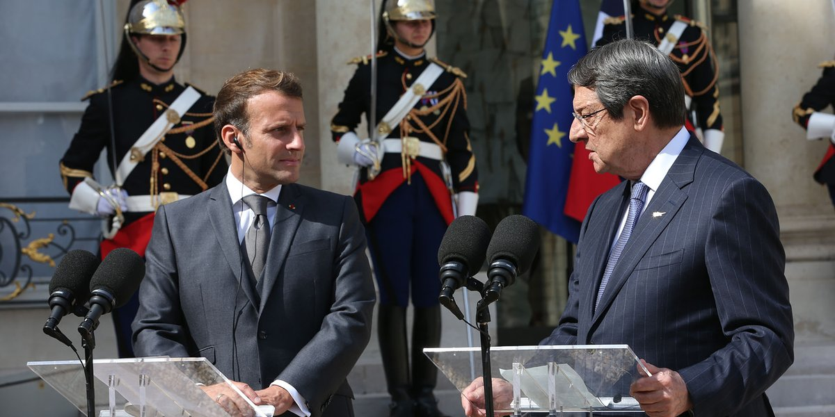 Cyprus: Anastasiades-Macron meeting particularly fruitful according to Gov't spokesman