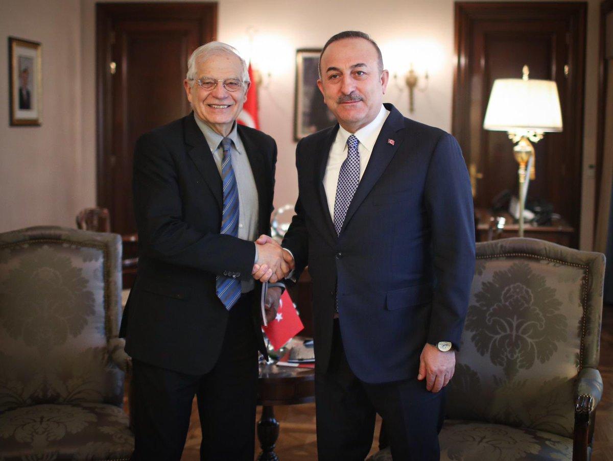 Turkey: Borrell, Cavucoglu speak over the phone