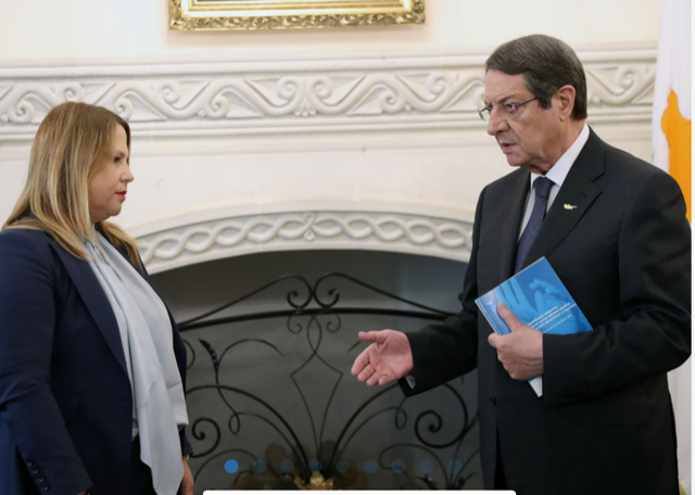 Cyprus: Anastasiades receives Administration and Protection of Human Rights Commissioner's annual report