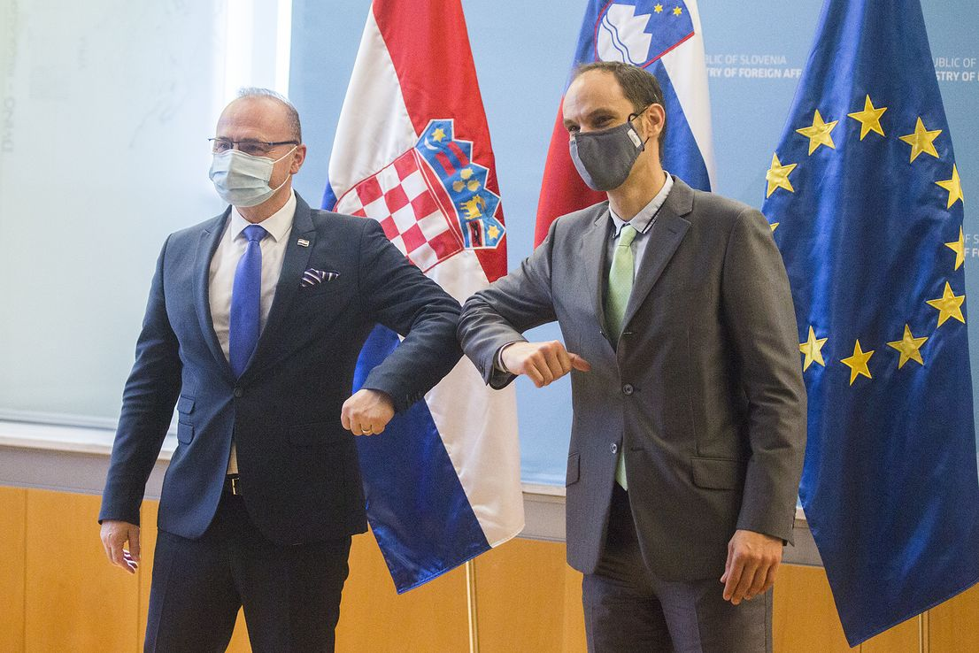 Slovenia and Croatia see no need to tighten border measures