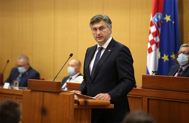 Croatia: Plenković presents bill on Zagreb's Reconstruction