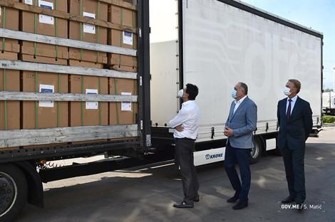 Montenegro: EU donatesrespirators and protective equipment