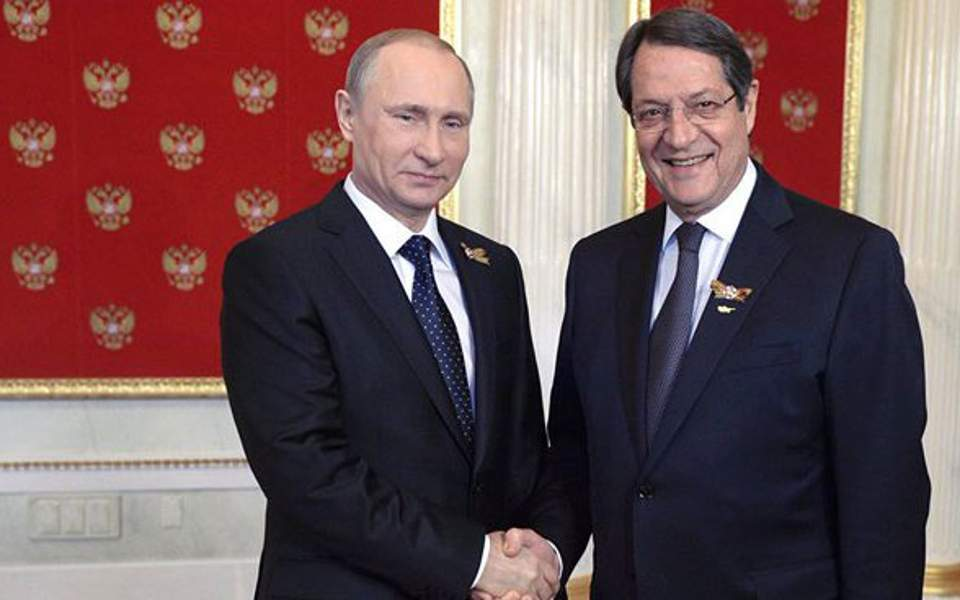 Cyprus: Anastasiades calls for Putin's intervention toward Turkey