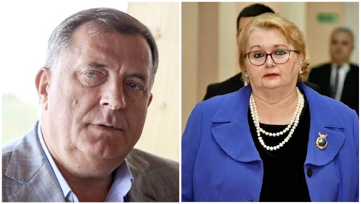 BiH: Foreign Minister Turković works on behalf of one party, Dodik claims