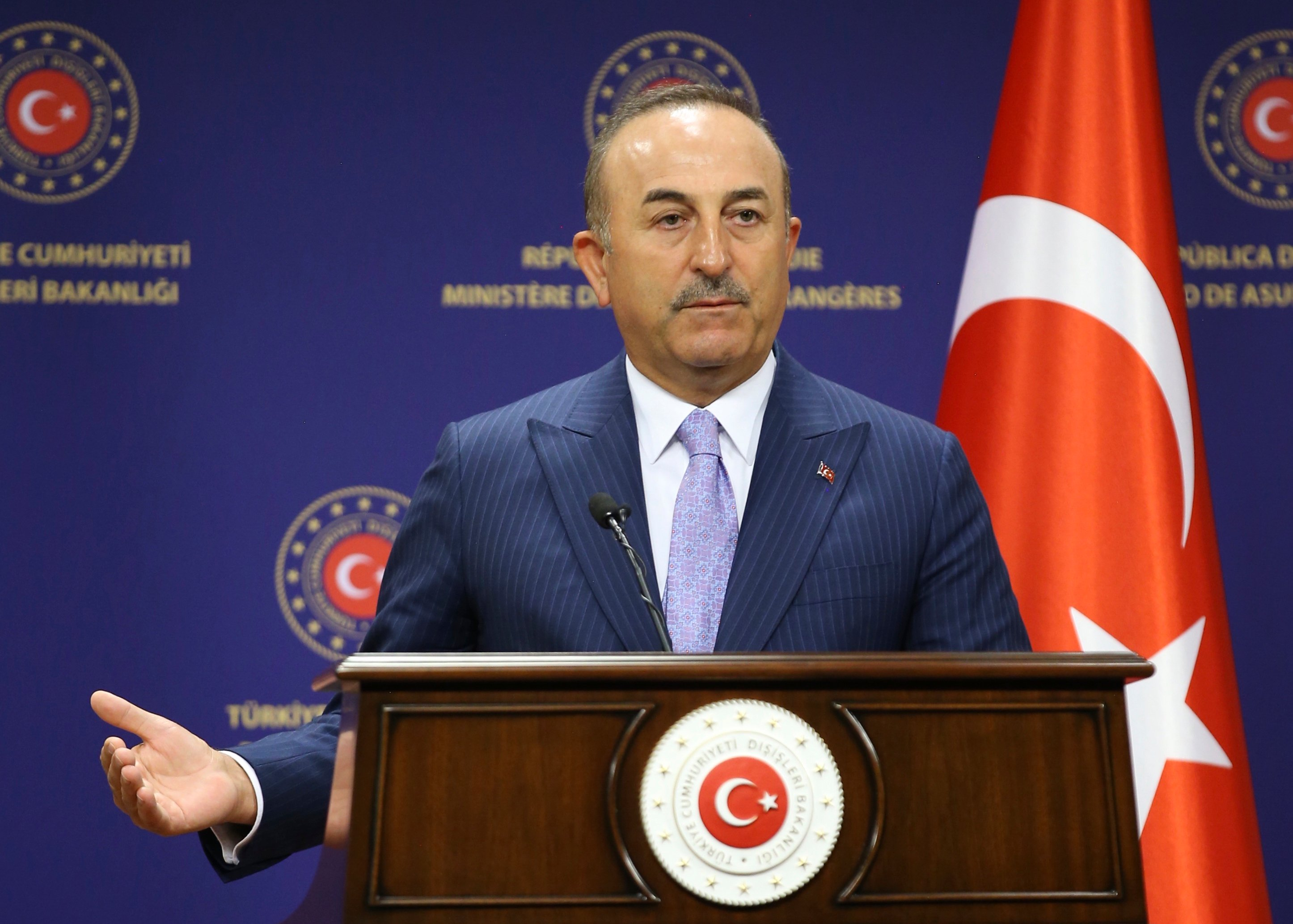"Cavusoglu: ""We will prove in practice that the agreement between Greece and Egypt is invalid"""