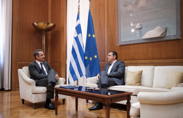 Greece: Mitsotakis briefs the President and the political leaders on the developments in the Eastern Mediterranean