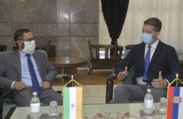 Serbia: Đurić meets with India's Amabassador to discuss Belgrade-Pristina Dialogue