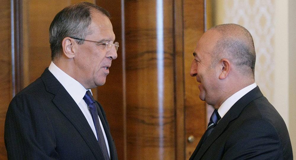 Turkey: Cavusoglu spoke with Lavrov, had meeting with Syrian opposition