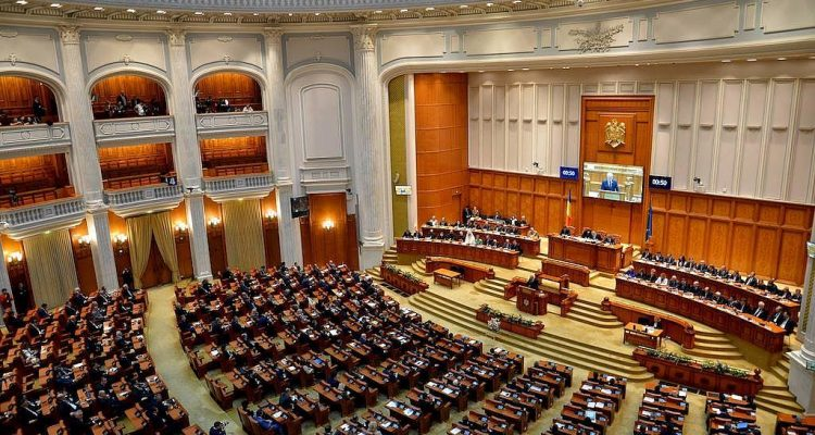Romania: The motion of censure was read in the Plenary