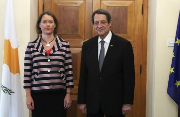Cyprus: Anastasiades meets with outgoing French Ambassador