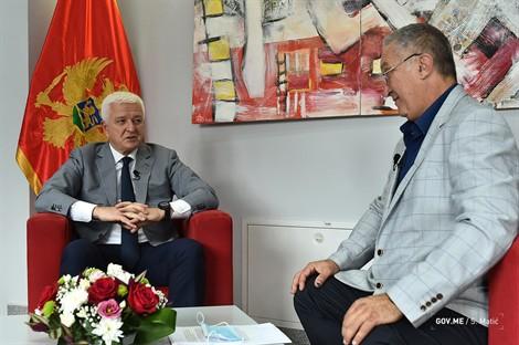 Montenegro: Development continues despite the crisis, states Marković