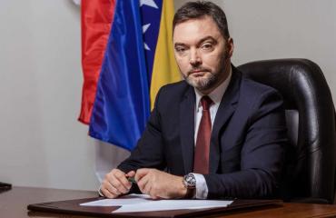 BiH: Minister Košarac demands urgent unblocking of the experts team appointment