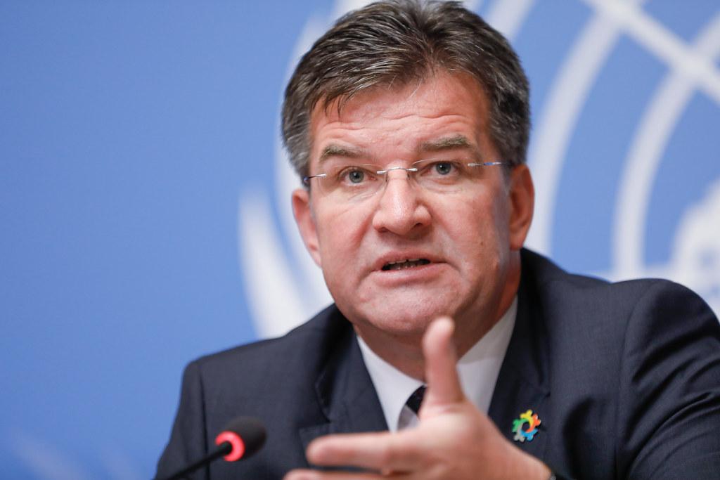 Yesterday's Belgrade-Pristina talks were a step forward according to Lajcak