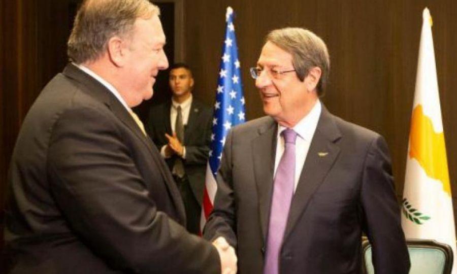 Cyprus: Anastasiades and Pompeo speak over the phone