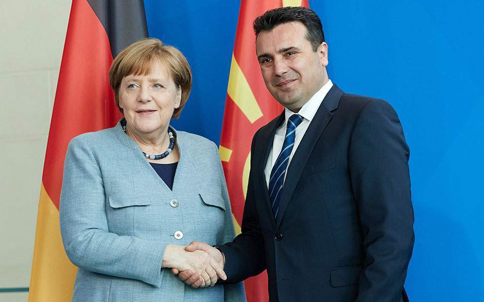 North Macedonia: Merkel congratulates Zaev on his re-election