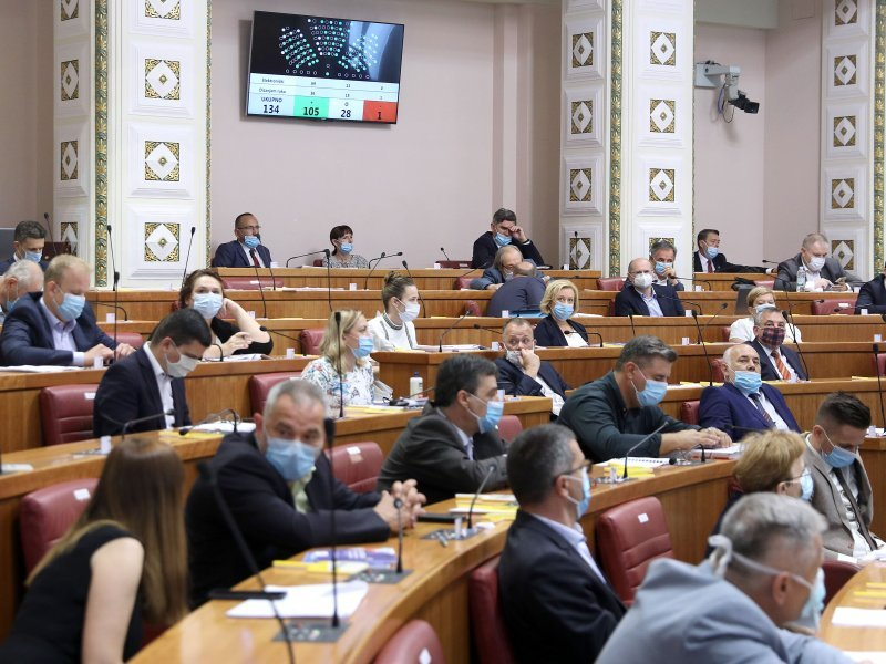Croatia: Autumn Parliamentary sessions began with debate on the Zagreb Reconstruction bill