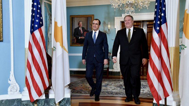 Cyprus: Pompeo to visit Nicosia Saturday, seeks de-escalation and dialogue