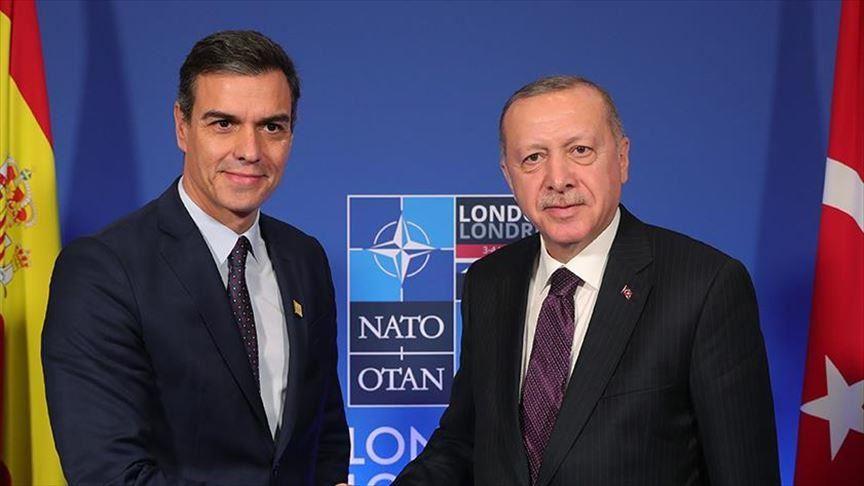 Turkey: Erdogan, Sanchez spoke over the phone