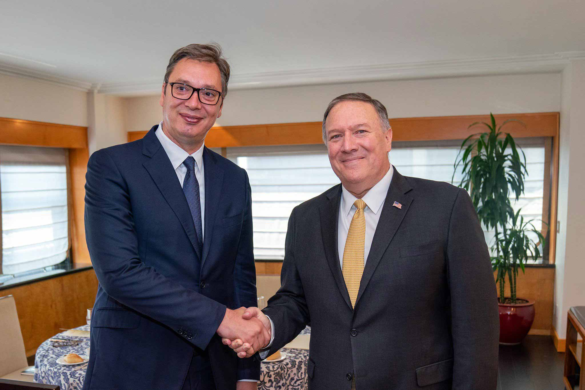 Serbia: Pompeo praises Vučić for branding Hezbollah a terrorist organization