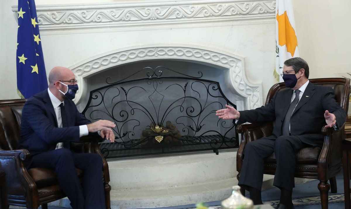 Cyprus: We must be absolute in respecting the rights of all EU countries, Charles Michel said from Nicosia