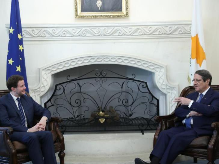Cyprus: French Minister of European Affairs met with Anastasiades, Christodoulides