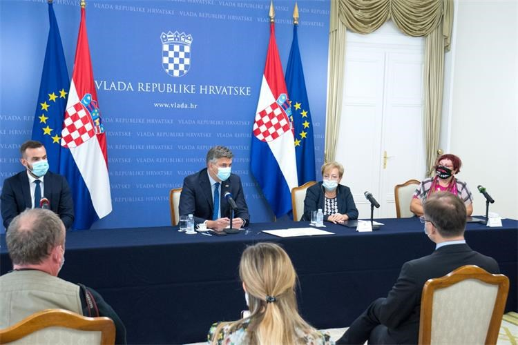 Croatia: The gov't's goal is to increase pensions by 10% by the end of its term, Plenković says