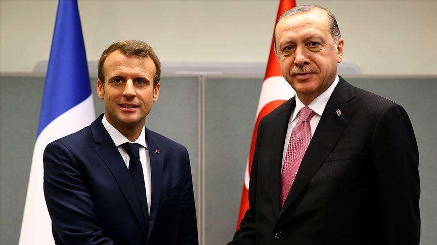 Turkey: Erdogan, Macron discuss Eastern Mediterranean, de-escalation