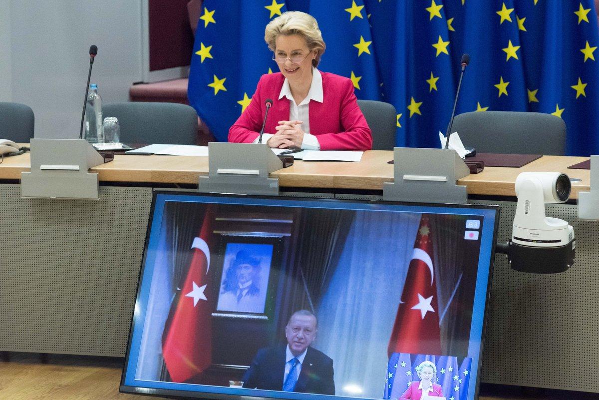 von der Leyen: Launch of Greek-Turkish talks essential for stability and EU-Turkish relations