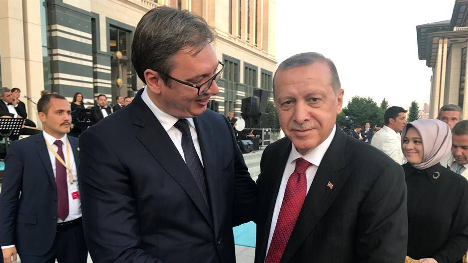 Serbia: Vučić in Istanbul for a working lunch with Erdogan