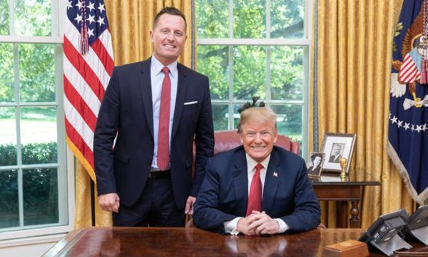 Kosovo: Hoti welcomes Grenell's proposal to name Lake Ujman after US President Donald Trump