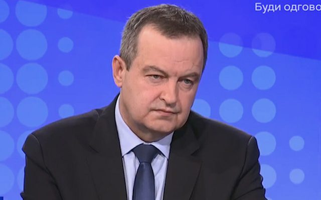 Dačić: Nobody believes me, but I do not talk about the government with Vučić
