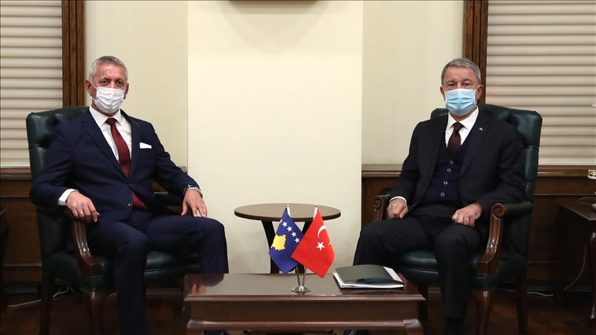 Turkey: Defense Minister meets with his Kosovar counterpart