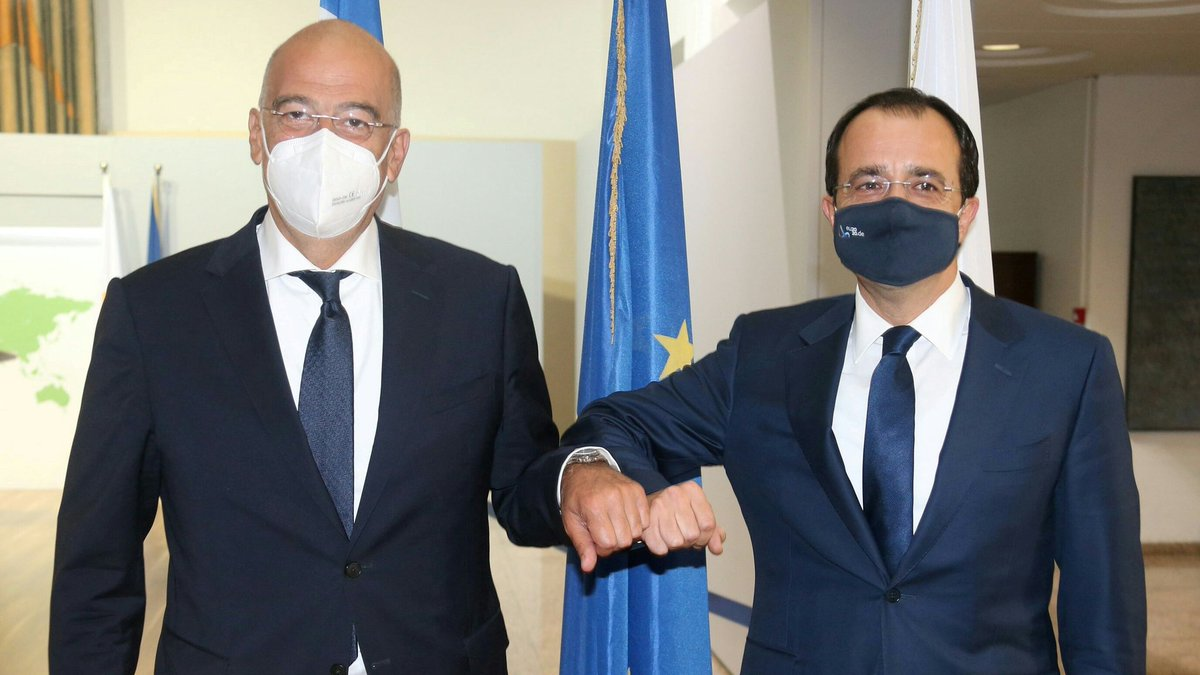Cyprus: Christodoulides and Dendias discuss Eastern Mediterranean developments in Nicosia