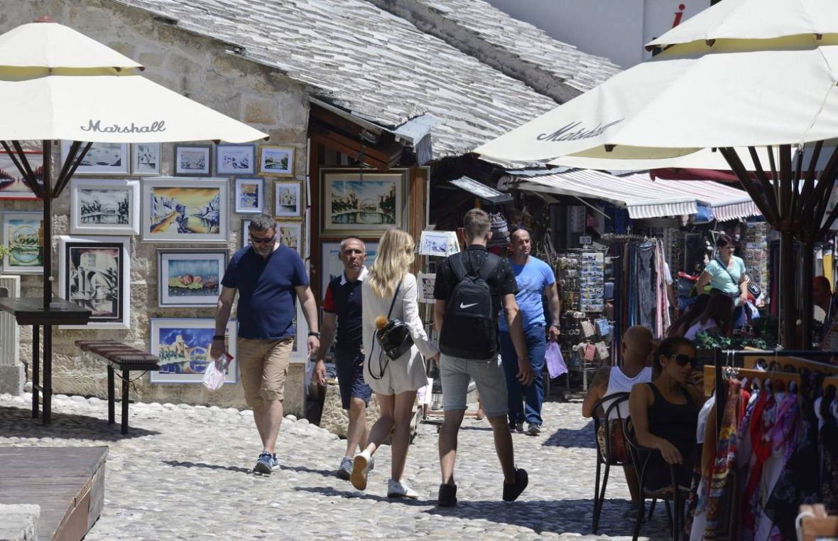 BiH: Significant drop in tourist arrivals compared to 2019