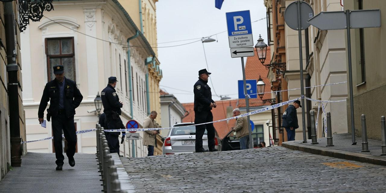 Croatia: 22yo man attempts to kill police officer near government premises