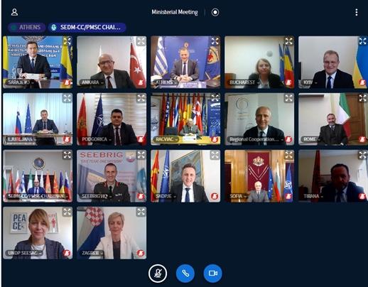 BiH Representative attends SEDM Initiative videoconference