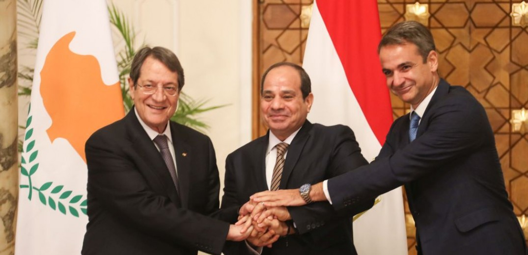 Cyprus, Greece, Egypt determined to preserve peace and stability in the region