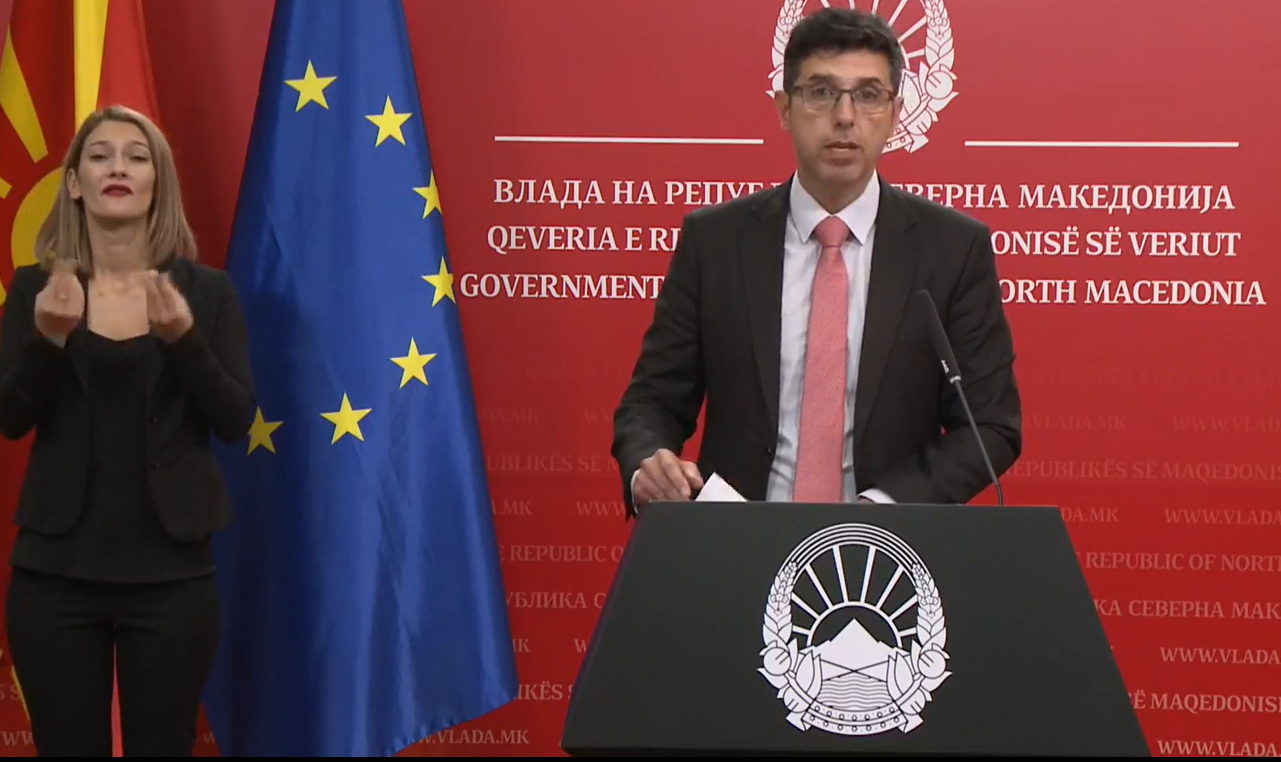 North Macedonia: Government deplores statements by Bulgarian Defense Minister