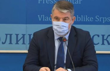 Šeranić: Number of infections in Republika Srpska on the rise