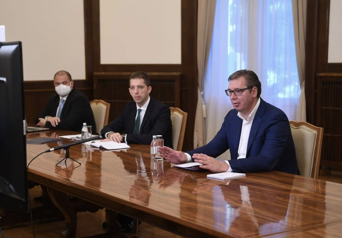Lajcak to Vučić and Hoti: You are on the right side of history and history will recognize that