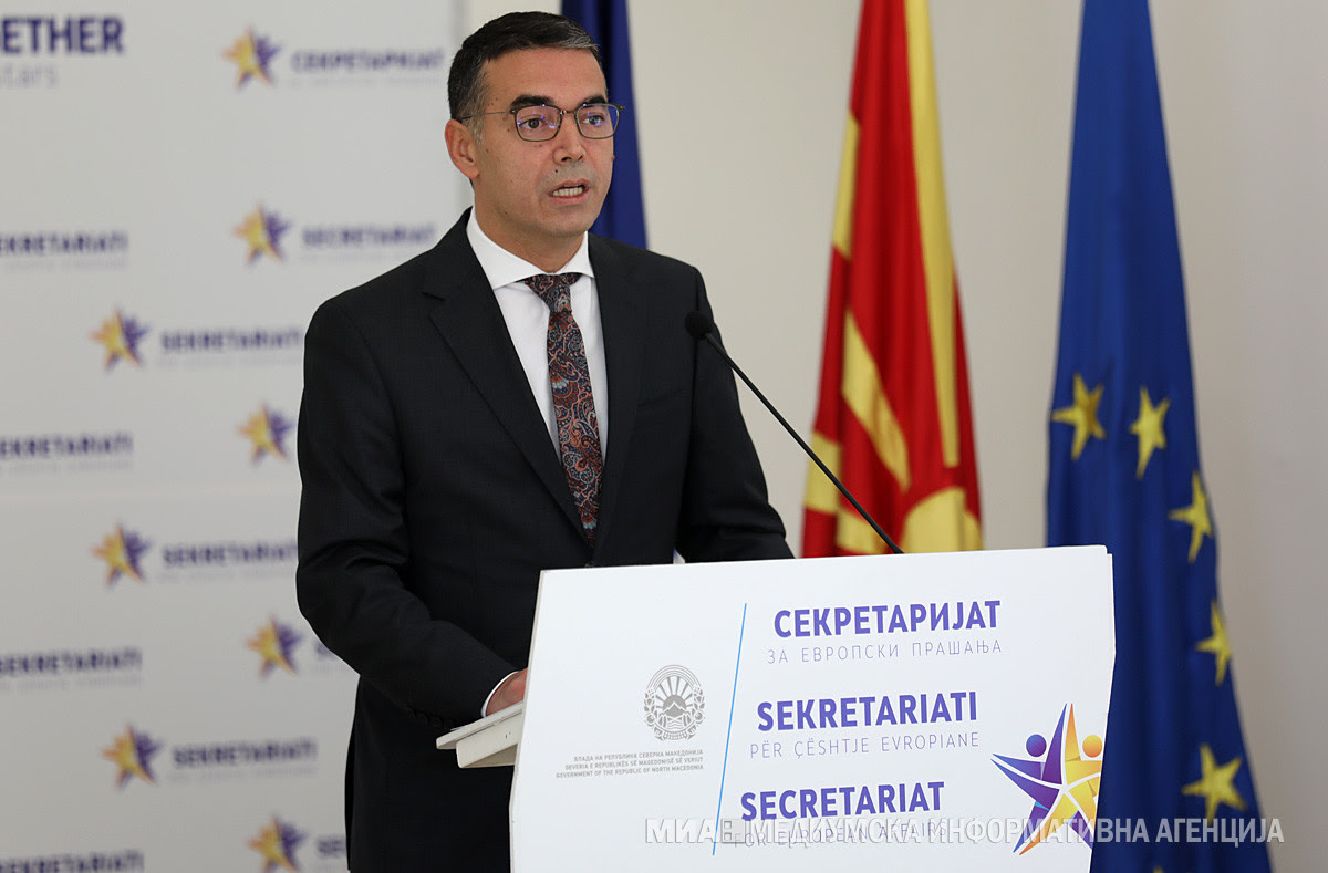 North Macedonia: Dimitrov heads to Paris in support of first EU Intergovernmental Conference