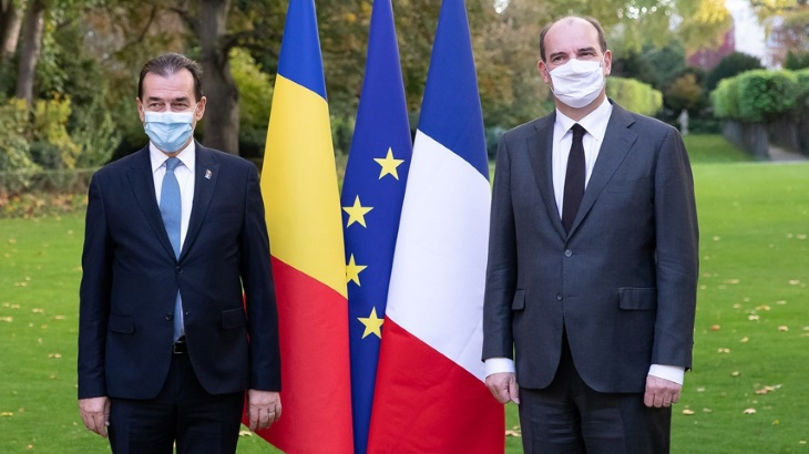 Romania: Orban and Castex sign update of France-Romania Strategic Partnership