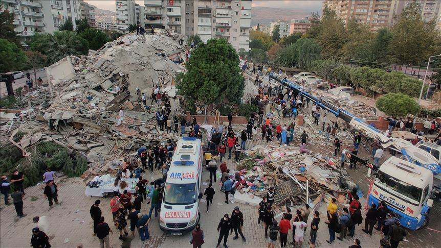 Turkey: Death toll rises to 12 with 400 injured at Seferihisar Dist. in Izmir following powerful 6.7-magnitude quake
