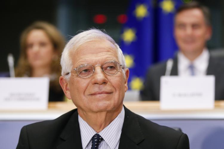 Albania: Josep Borrell holds video conference with Edi Rama