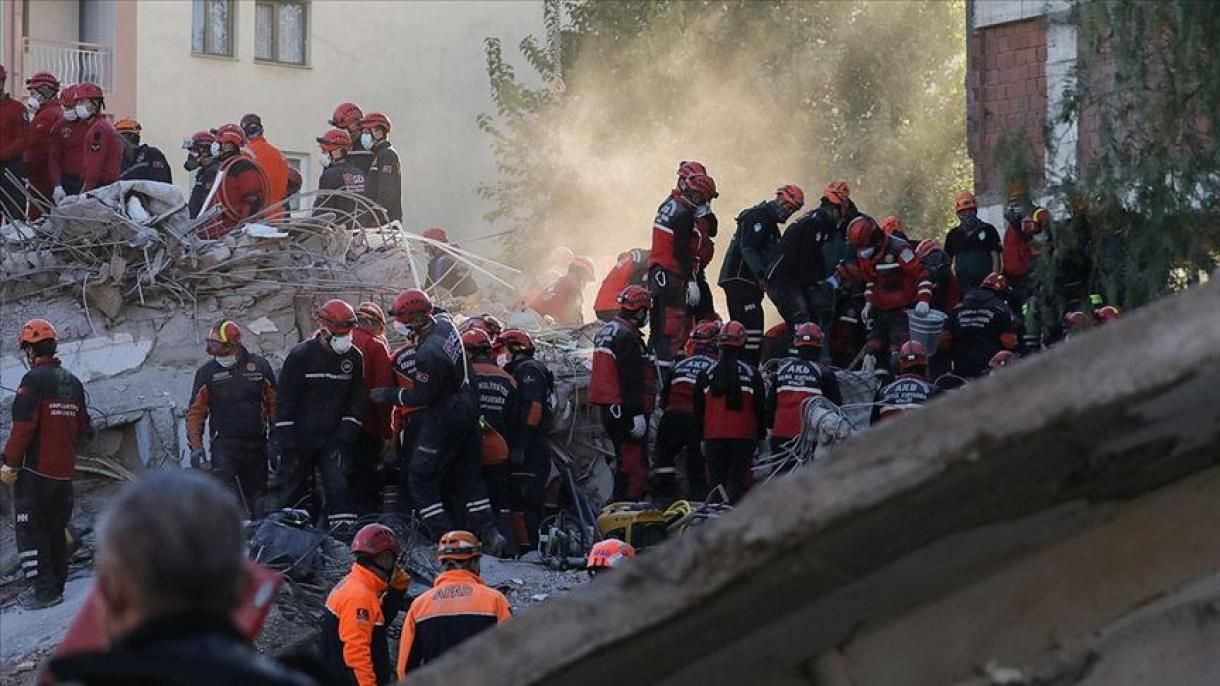 Turkey: 114 people died in the earthquake in Izmir