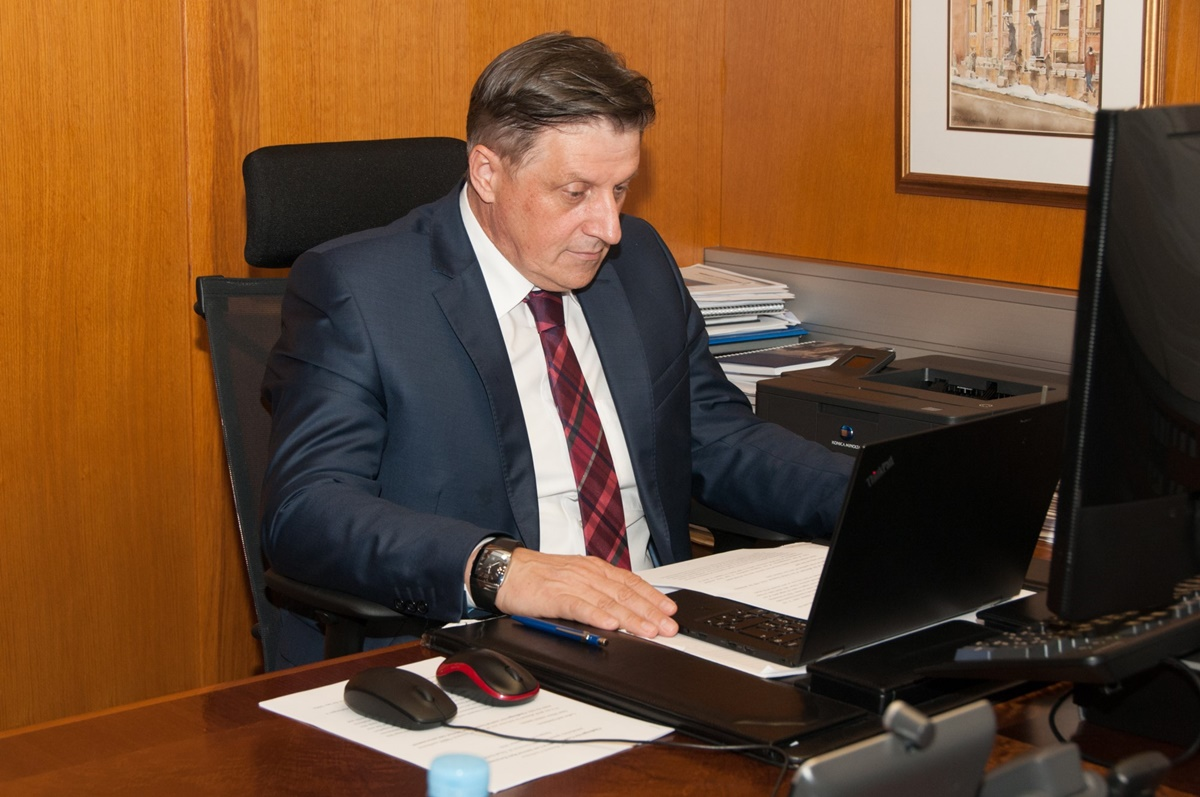 BiH: Central Bank Governor participated in Club of Governors virtual meeting
