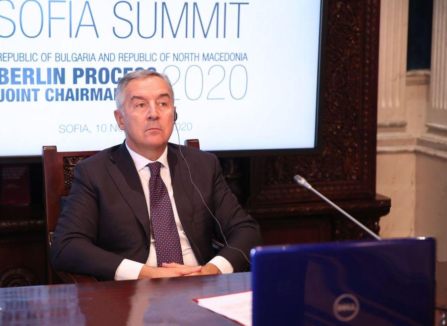 Montenegro: Đukanović attends work of the Berlin Process Summit