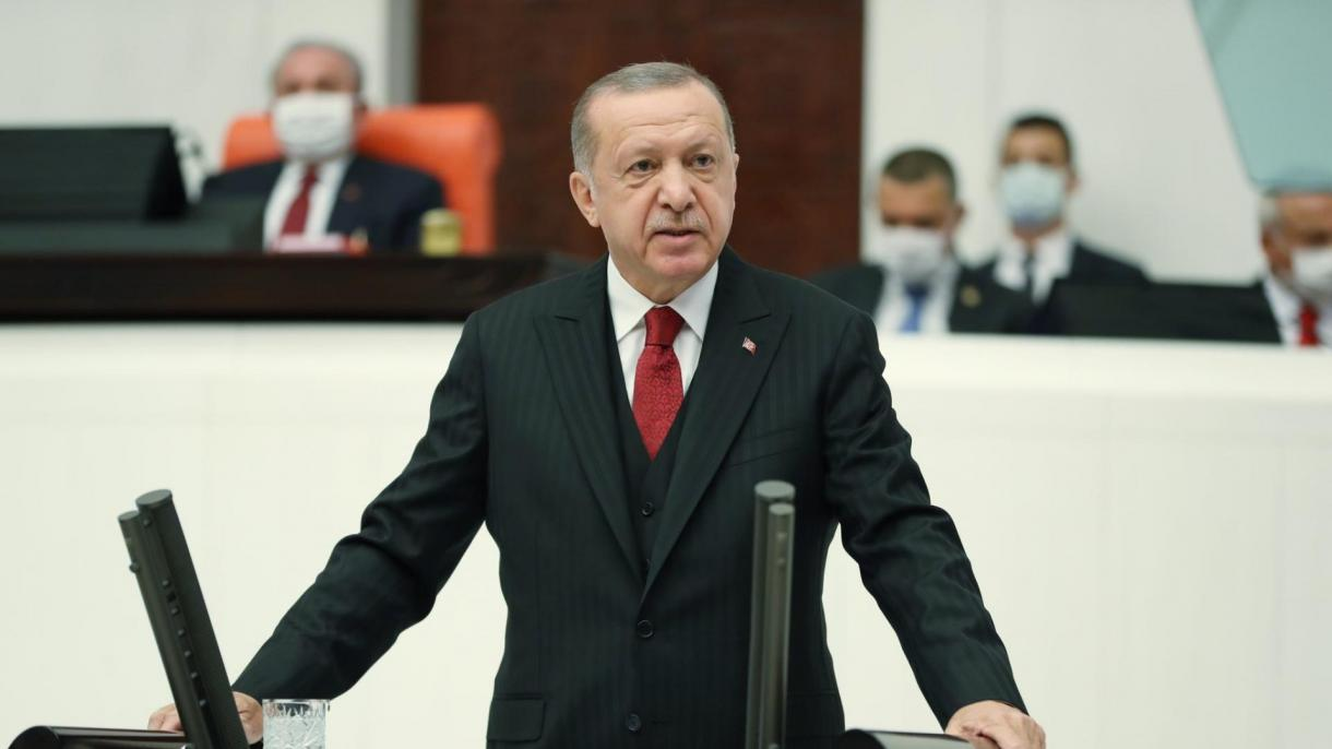 Turkey: Erdogan announces new economic policy; sends out call for co-operation in region's countries