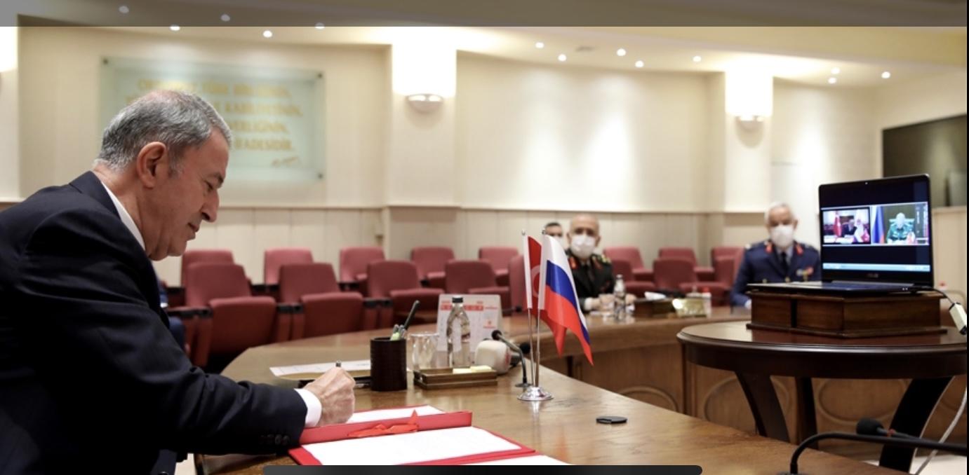 Turkey: Akar, Shoygu sign Agreement on Joint Monitoring of Nagorno-Karabakh Ceasefire