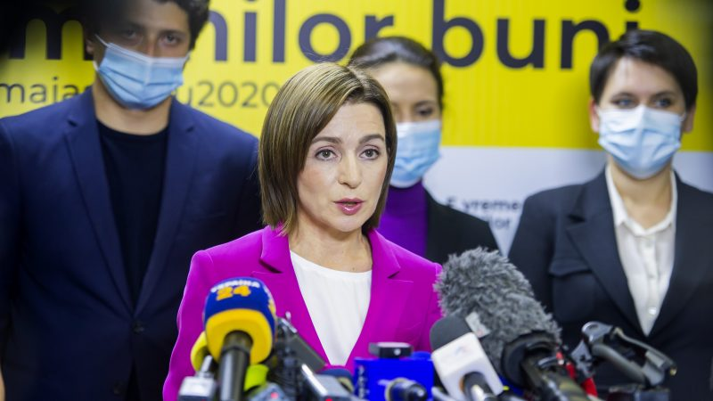 Romania: Bucharest political and state leadership welcome Sandu's election in Moldova